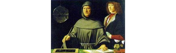 Luca Pacioli, a kettős könyvvitel atyja